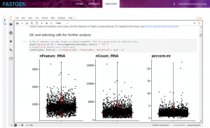 Interactive Analysis in full screen width